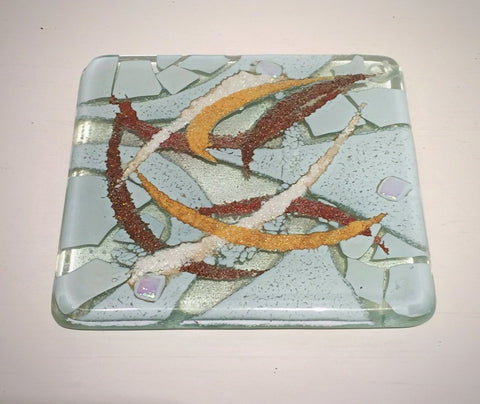 Abstract Coaster (White)