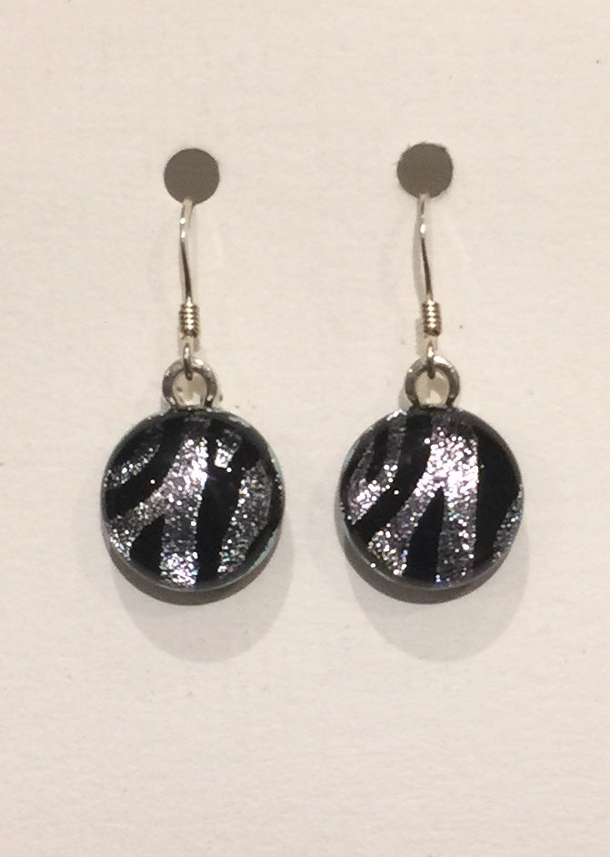 Zebra Stripe Earrings