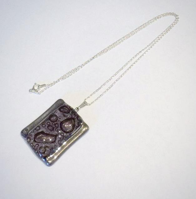 Rectangle BubblePendant 1 (Brown)
