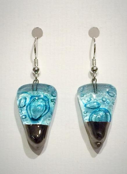 Bubble Cone Earrings 2 (Turquoise)
