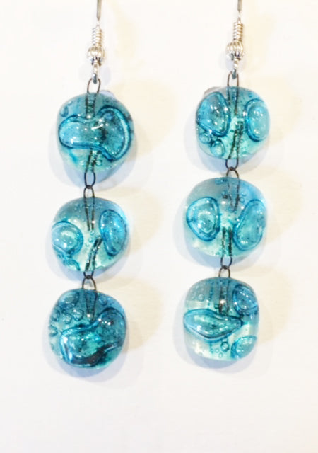 Bubble Drop Earring (Turquoise)