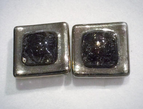 Cufflinks 1 Brown Square