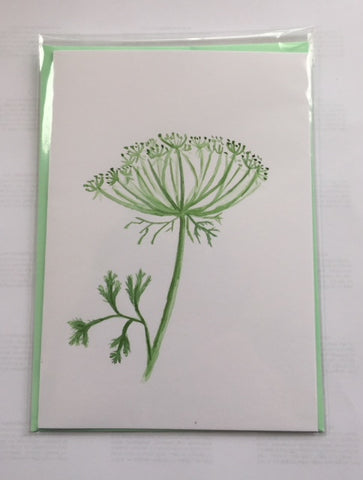 Ammi Flower (card)