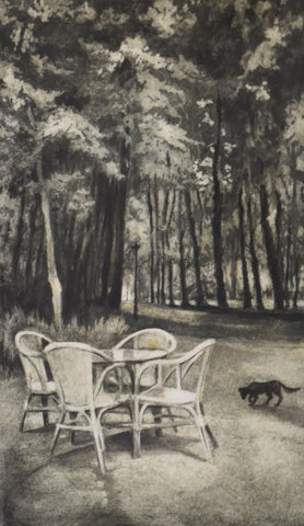 Waiting - Cafe in the Forest (a/p)