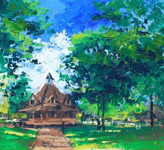 Bournville Green (Print)