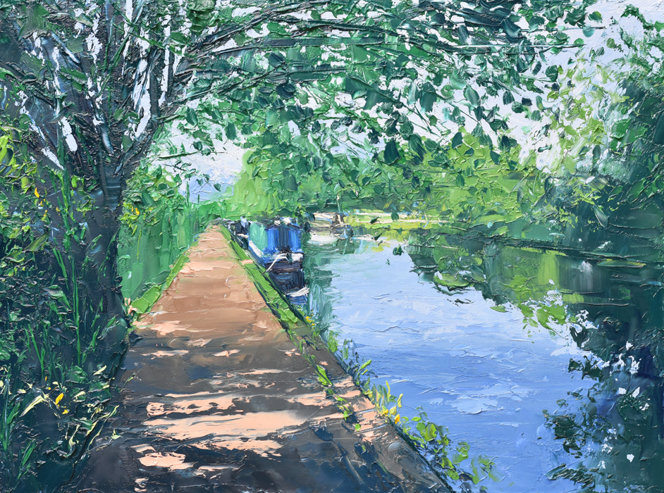 Summer Light, Bournville Moorings