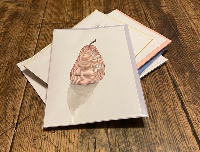 Red Pear (card)