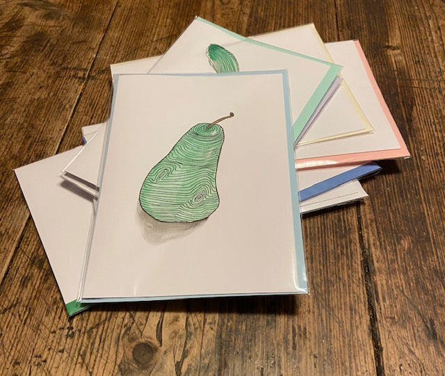 Green Pear (card)