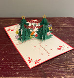 Double Christmas Tree Card