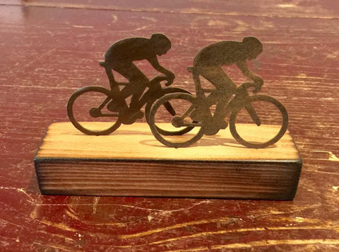 Cyclists (Miniature) 2