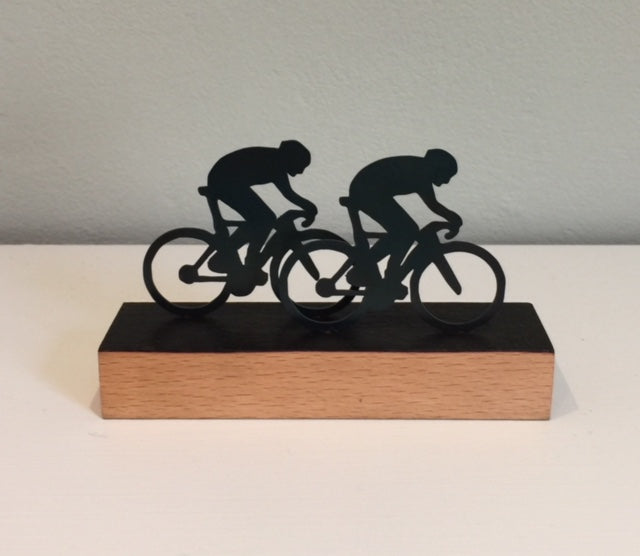 Cyclists (Miniature) 1