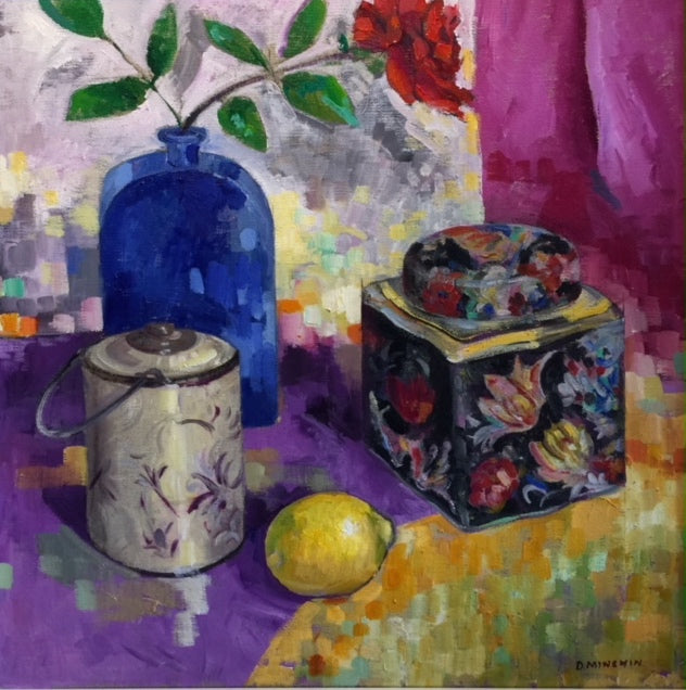 Still Life with Tea Caddy