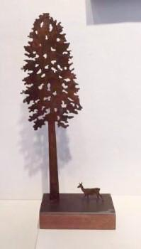 Tall Tree (with Deer)