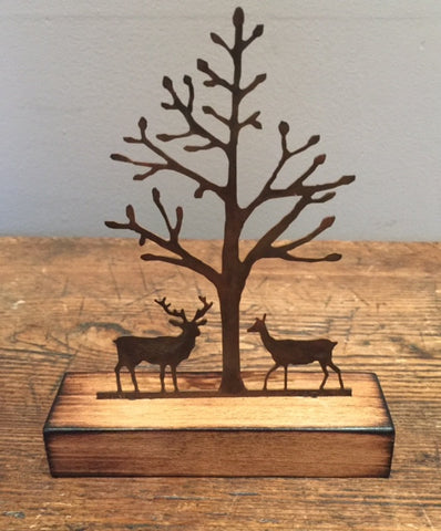 Together Miniature (Stag & Doe) 2
