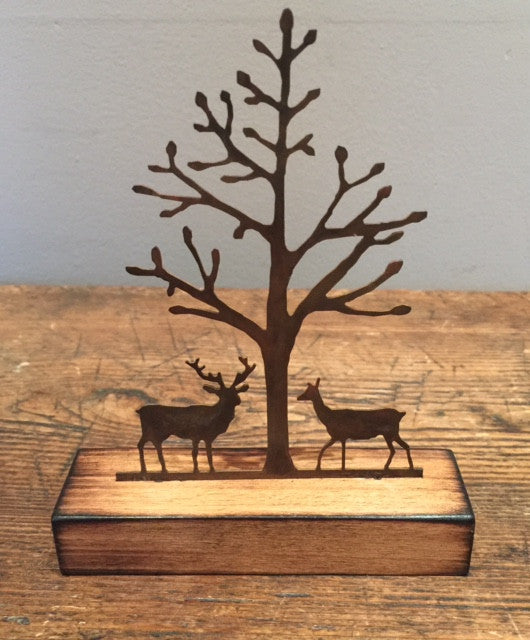 Together Miniature (Stag & Doe) 3