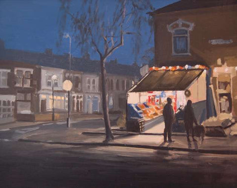 Derek and Pauline's Corner Shop (Print)