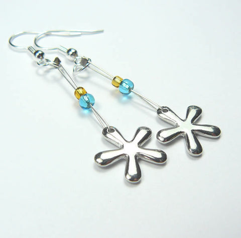 Sea Star Drop Earrings
