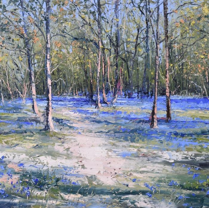 Early Bluebells (Print)