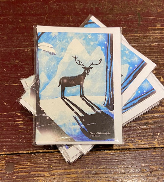 Place of Winter Quiet (Set of 3 Cards)