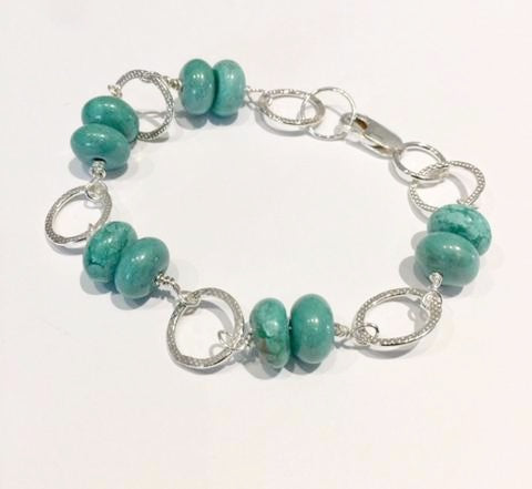 Silver & Turquoise Bracelet 2