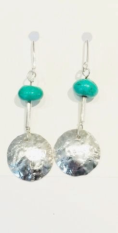 Silver & Turquoise Earrings