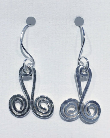 Double Swirl Earrings