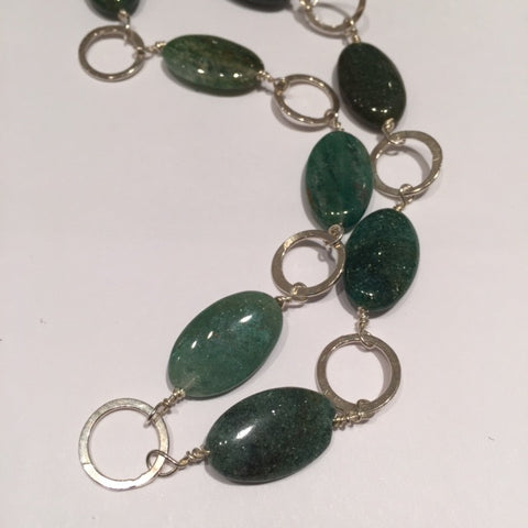 Jade & Silver Necklace