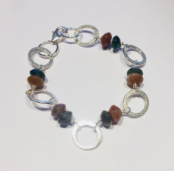 Mixed Agate Bracelet 2