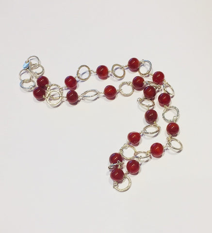 Red Carnelian Necklace 3