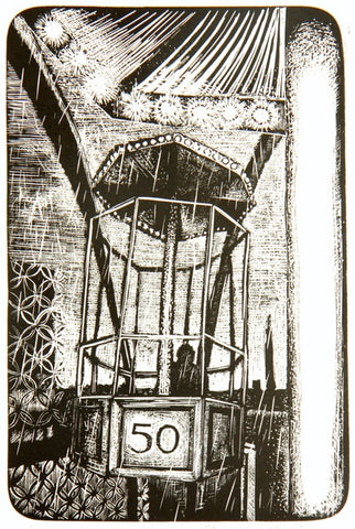 Following No. 50 (Engraving) 1/50 Framed
