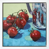 Tomatoes and Stainless Steel Jug