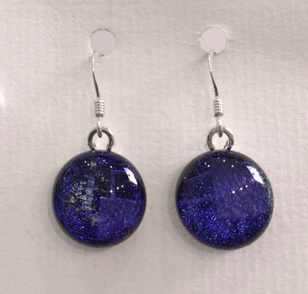 Dichroic Glass Earrings 12
