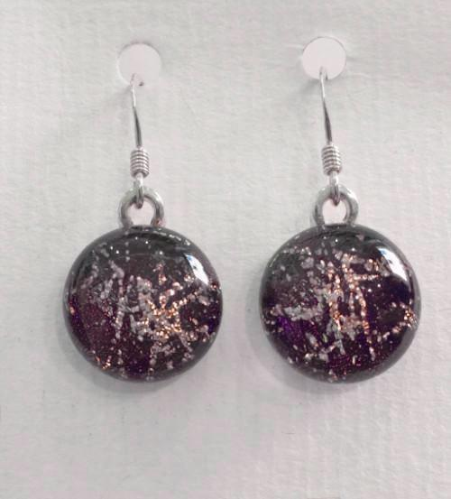 Dichroic Glass Earrings 6