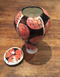 Pink Lidded Pot