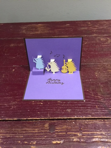Happy Birthday Card (Porcupines)