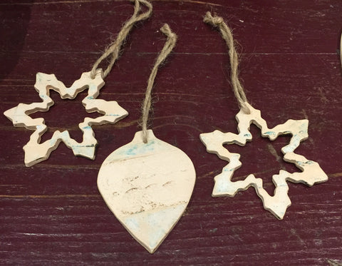 Ceramic Decorations 1 (set of three)