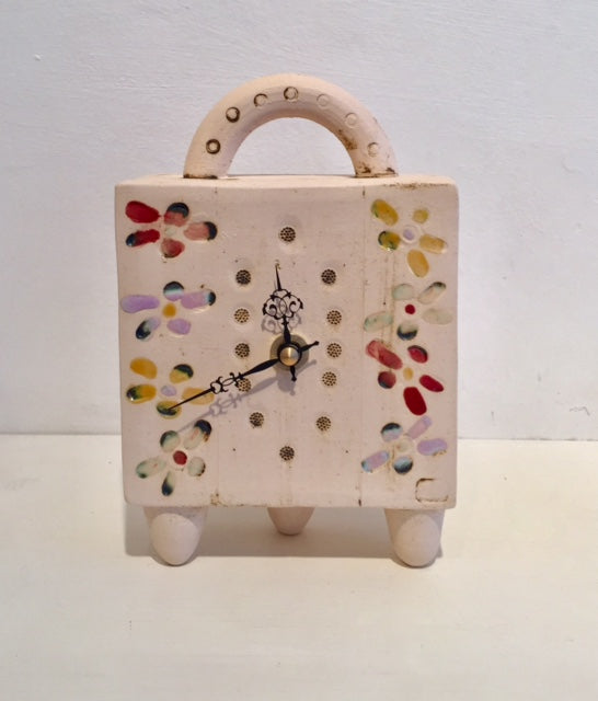 Flowers Clock with Feet 1