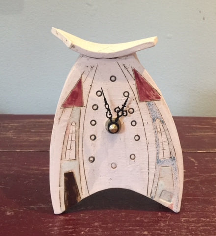 Mini Ceramic Clock 4