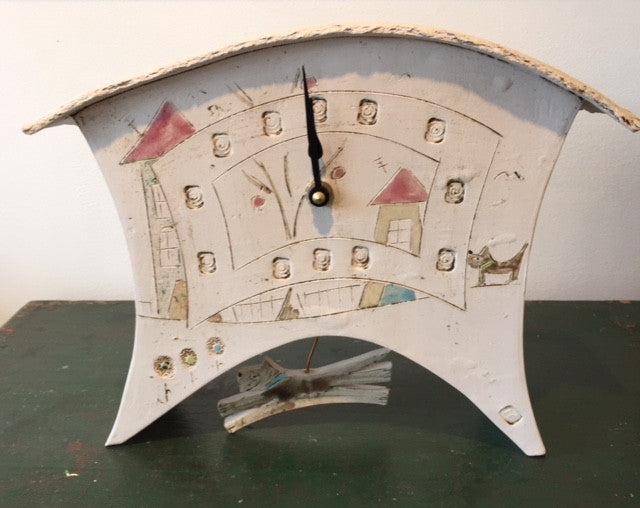 Pendulum Clock with Dog