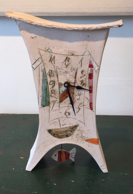 Pendulum Clock with Fish