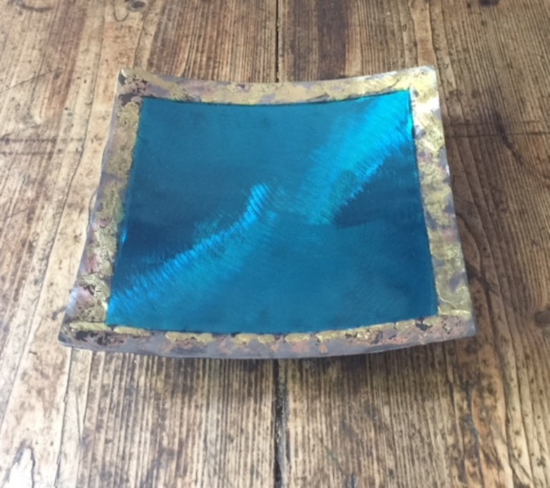 Square Plate (Turquoise)