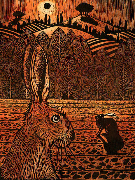 Two Hares 3/100