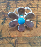 Daisy Ring (Teal)