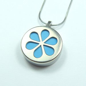 Full Bloom Pendant (Blue)