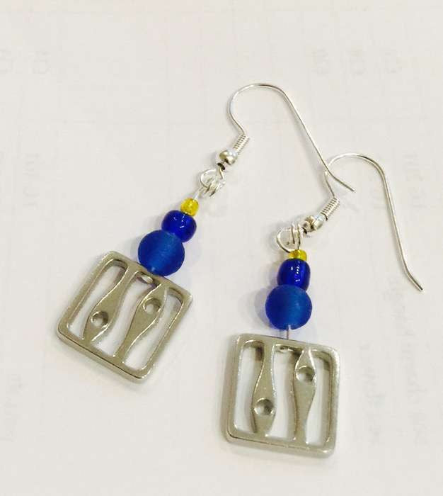 Fish Drop Earrings