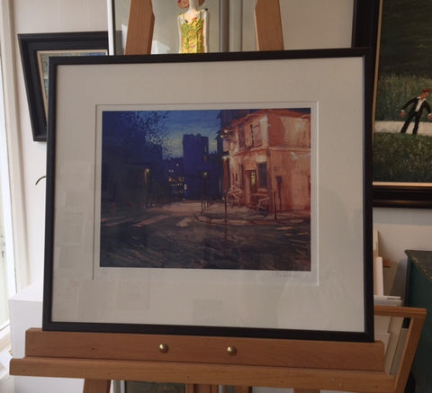 Late Summer Evening, La Maison Rose (Framed Print) 1/150