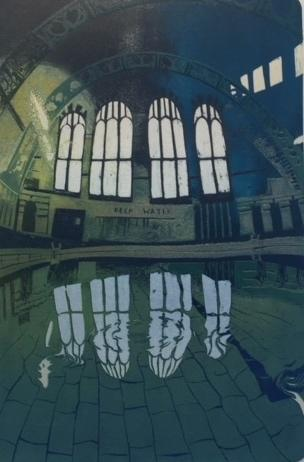 Moseley Road Baths 20/25 (framed)