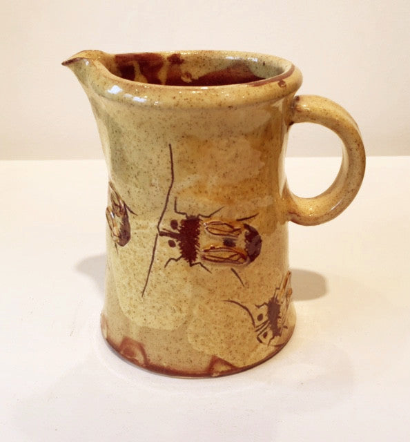 Small Jug with Bees