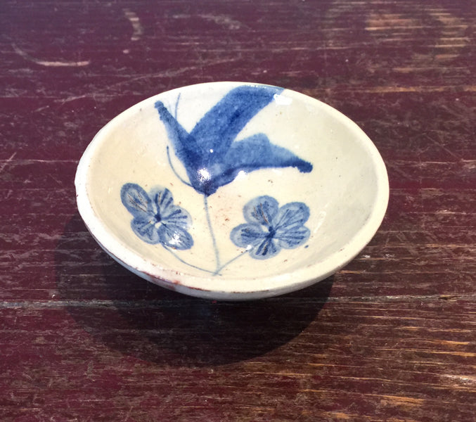 Blue Flowers Mini Bowl 1