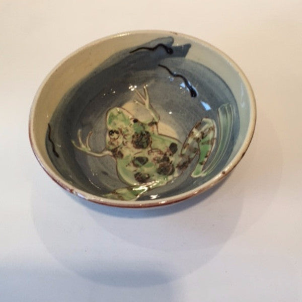 Small Bowl with Frogs